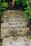 Jane Mosier's Grave marker