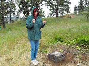 Mosier Pioneer Cemetery 05-23-10 4