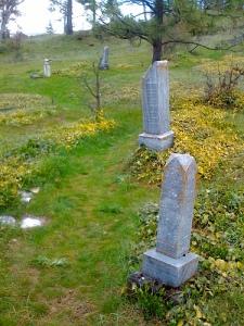 Mosier Pioneer Cemetery historical
